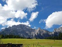 Sky, Mountainous Landforms, Grassland, Mountain Range royalty free stock images