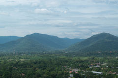 Sky with mountains. Sky with mountains at Nakornnayok province in Thailand Royalty Free Stock Photography