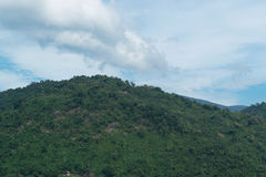 Sky with mountains. Sky with mountains at Nakornnayok province in Thailand Royalty Free Stock Photo