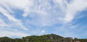 Sky and mountains.,Thailand Stock Photo