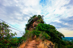 Sky  moutain in udonthani. Sky  moutain in udon thani Stock Images