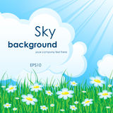 Sky nature background Royalty Free Stock Photography