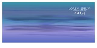 Vecter of beatiful sky background. Sky Nature Landscape Background, vector of realistic sky for web. Seasonal background illustration royalty free illustration