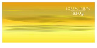 Vecter of beatiful sky background. Sky Nature Landscape Background, vector of realistic sky for web. Seasonal background illustration stock illustration