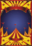 Sky night circus big top Royalty Free Stock Photos