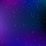 Sky night space abstract background with stars. Universe backdrop. Vector illustration. Royalty Free Stock Photos