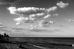 Sky and ocean Royalty Free Stock Images