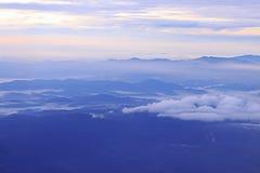 Sky och berg Royaltyfri Foto