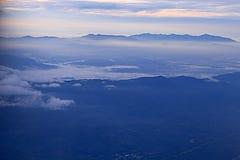 Sky och berg Arkivfoton