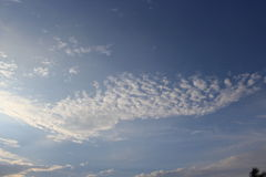 The sky. One of outstanding natural beauty beautiful Royalty Free Stock Photos