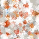 Sky orange and white colors, cloudy abstract background.  Stock Illustration