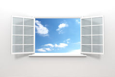 Sky outside Royalty Free Stock Images