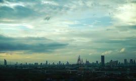 The sky over Bangkok Royalty Free Stock Image