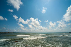 The sky over the Black Sea, Bulgaria Stock Images