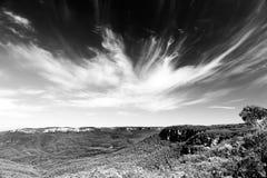 Sky over the Blue Mountains Stock Photos