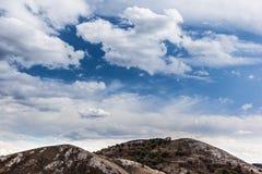 Sky over mountains Stock Photos