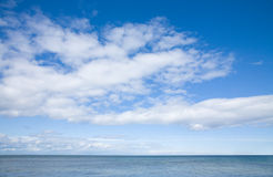 Sky over sea Royalty Free Stock Photos