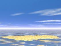 Sky over the Sea Royalty Free Stock Photo