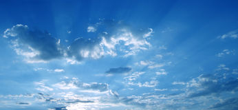 Sky panorama royalty free stock photography