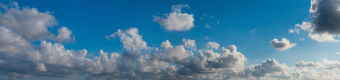 Sky. Panorama. Stock Photography