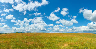 Sky panorama Stock Photography
