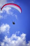 Sky paragliding Stock Photos