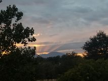 sky phenomenon stock photography