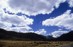 Sky on Puya Raimondy #1 Stock Image