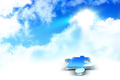 Sky puzzle Royalty Free Stock Image
