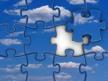 Sky puzzle Stock Photo