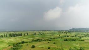 The sky before the rain stock video