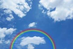 Sky with a rainbow Royalty Free Stock Photos