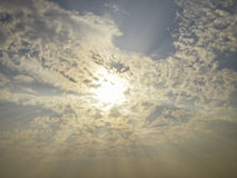 Sky Ray Royalty Free Stock Images