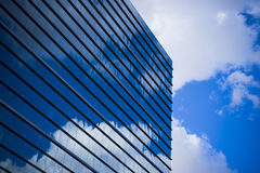 Sky reflected modern building Stock Photography