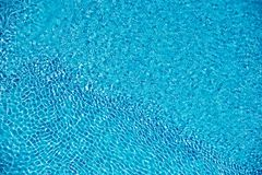 Sky reflected in a pool royalty free stock photography