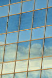 Sky reflecting in windows Stock Photography