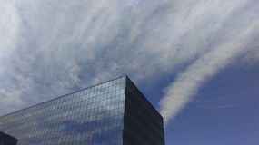 Sky reflection Stock Image