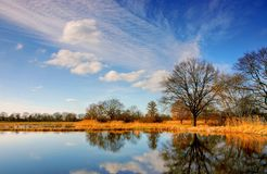 Sky, Reflection, Nature, Water stock image