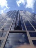 Sky reflection. Skyscraper in Kansas City Stock Image