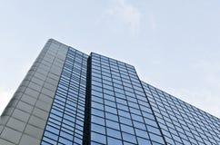 Sky reflections on hotel Stock Photo
