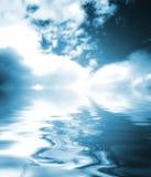Sky reflexion Stock Photo