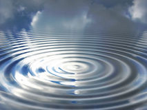 Sky ripple stock photography