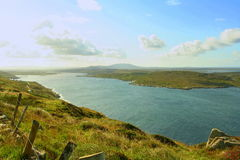Sky road - Clifden Royalty Free Stock Photography