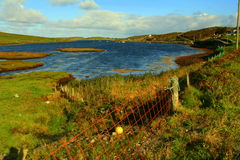 Sky road - Clifden Royalty Free Stock Photo