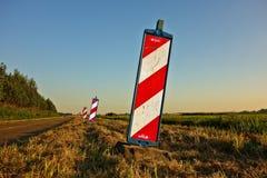 Sky, Road, Field, Grass stock image