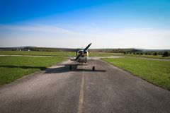 Sky, Road, Rotorcraft, Helicopter Royalty Free Stock Image