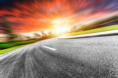 Sky and roads Royalty Free Stock Photography