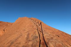 Sky, Rock, Mountainous Landforms, Badlands stock photography