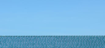 Sky and roof at home Stock Photo