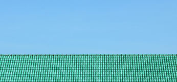 Sky and roof at home Royalty Free Stock Image